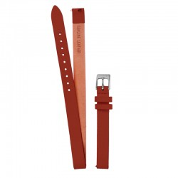 Bracelet Oui & Me pour Ø32mm double cuir tan-SV