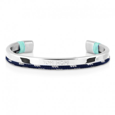 Bracelet Tom Hope Hybrid Cuff-SV/BL/GR-taille M