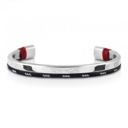 Bracelet Tom Hope Hybrid Cuff-SV/BL/GR-taille L
