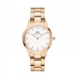 Montre W ICONIC LINK 32 ROSEGOLD QD.WHIT