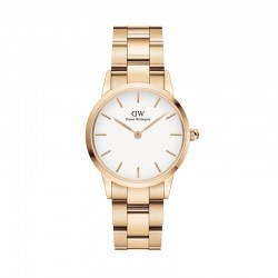 Montre DW Iconic Link 28 RG White