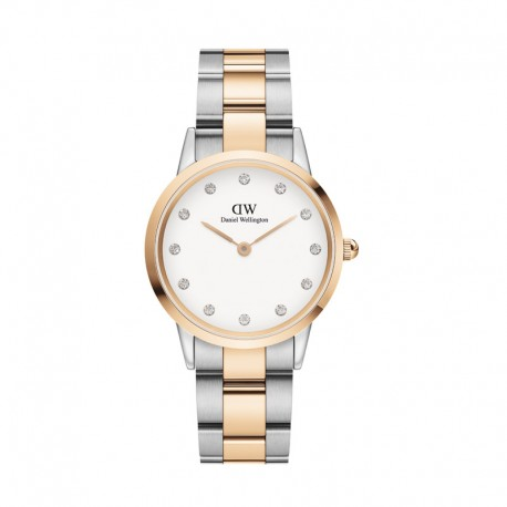Montre DW Iconic Link Lumine 32 RG/S Whi