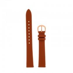 Bracelet Oui & ME pour Ø38mm cuir blanc-RG