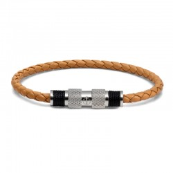 BR SILVER LEATHER LIGHTBROWN S